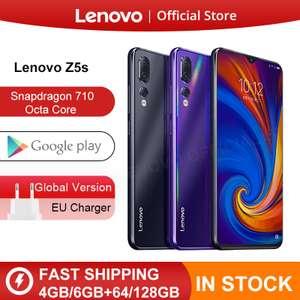 Lenovo Z5s смартфон восьмиядерный. ОЗУ 6 ГБ, ПЗУ 128 ГБ, 6,3 AI
