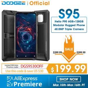 Защищёнными смартфон Doogee S95 6/128GB (48MP Android 9.0 5150mAh)