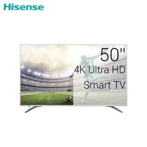 """4K Телевизор 50"""" LED смарт ТВ Hisense H50A6500"""
