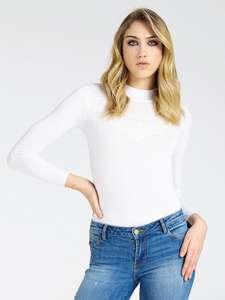 -20% дополнительно при покупке двух вещей в GUESS, например юбка-футляр и джемпер