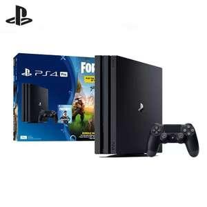Sony PlayStation 4 Pro (1Tb) Black (CUH-7208В) + Ваучер «Fortnite»