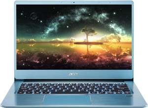 "[не все города] Ультрабук Acer Swift 3 SF314-41-R32D (синий, 14"" IPS, Ryzen 5 3500U, Radeon Vega 8, SSD 512 Гб, 8 Гб DDR4, Windows 10)"
