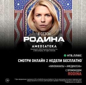 2 недели подписки на НТВ-ПЛЮС + Amediateka