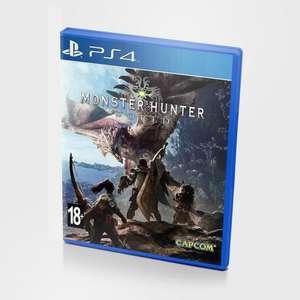 [PS4 Азия] Monster Hunter: World (на аккаунте PSN Asia)