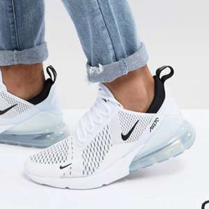Белые кроссовки Nike Air Max 270