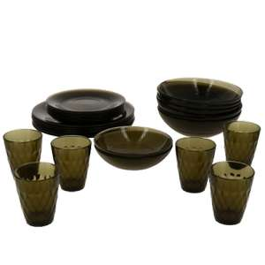 [Не все города] Набор Луиз Эклипс Luminarc 26 предметов со стаканами