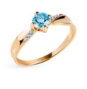 [27.03] Распродажа SUNLIGHT на Aliexpress (напр. Золотое кольцо с топазами и фианитами 63039700-Тп)