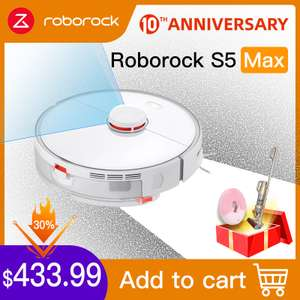 Робот-пылесос Roborock S5 Max за $425.24