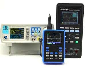 Профессиональный цифровой осциллограф FNIRSI-1C15 ($59)