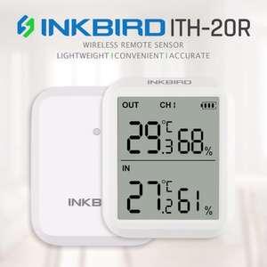 Гигрометр/термометр Inkbird ITH-20R с 1 выносным датчиком за 14.31$