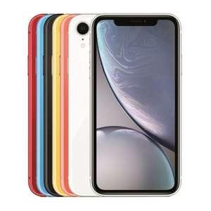 Apple iPhone Xr 128 ГБ (синий и желтый)