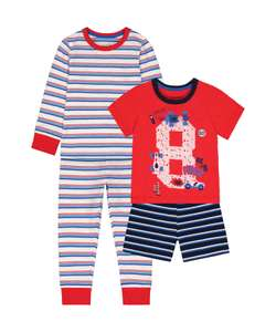 """-25% на одежду и обувь в MotherCare (например детские пижамы """"Гонки"""")"""