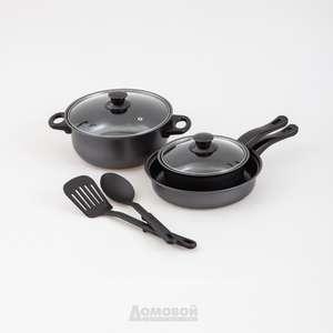[СПб] Набор посуды 5 предметов индукция, антипригарное покрытие, сталь в tddomovoy