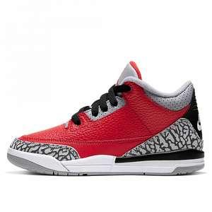 Детские кроссовки Jordan 3 Retro SE (PS) в street-beat