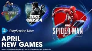 PlayStation Now - бесплатные игры по подписке: Marvel's Spider-Man, Just Cause 4 и The Golf Club 2019