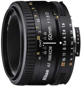 Объектив Nikon AF 50mm f/1.8D