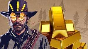 Red Dead Online: 5 золотых слитков бесплатно + другие бонусы