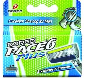 Сменные кассеты для бритья Dorco Pace 6 & Trimmer Магазин РивГош