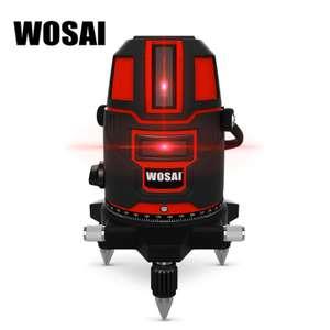 Лазерный уровень-нивелир (5 линий) за $37 от WOSAI