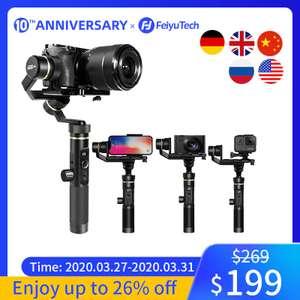 Ручной Стабилизатор G6P для беззеркальной камеры GoPro Smart phone