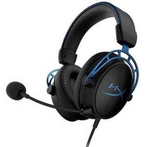 Игровые наушники HyperX Cloud Alpha S Blue
