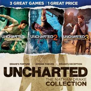 [PS4] Uncharted: Collection и Journey бесплатно (подписка PS Plus не требуется)