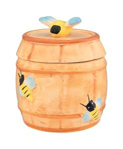 Горшочек для меда (9х9х10 см; 250 мл) Бочонок, Elan Gallery