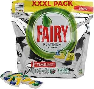 Капсулы для посудомоечных машин Fairy Platinum All in One Lemon (125 шт)