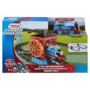 """Железная дорога Fisher Price Mattel Томас и его друзья """"Угольный бункер/Водяное колесо"""""""