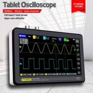 Профессиональный планшетный осциллограф ADS1013D (100MHz,1G/s, 2ch) за $125