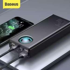 Промокод $2 на отдельные повербанки Baseus (например 65W аккумулятор на 30000mAh)