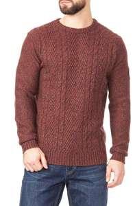 Джемпер с шерстью для мужчин (размеры от S до XXXL)