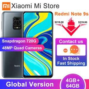 Xiaomi Redmi Note 9S 4/64Gb и 6/128Gb