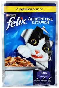 Felix корм для кошек 85г