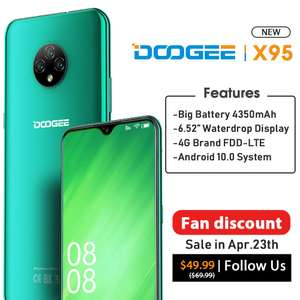 Смартфон DOOGEE X95 на Android 10