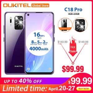 OUKITEL C18 Pro 4/64 Гб