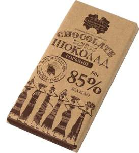 [Мск, МО] Шоколад Коммунарка 90г (1+1) Горький 85% и 65% и Молочный 33%