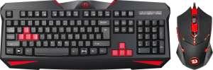 Игровой набор клавиатура + мышь Redragon S101-2