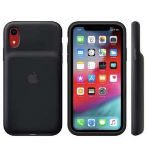 Оригинальный Чехол-аккамулятор Apple для iPhone XR Black (MU7M2ZM/A)