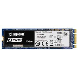 Kingston Digital A1000 960GB PCIe NVMe M.2 2280 Internal SSD - Blue временно со скидкой 100$ по коду