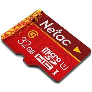 Micro SD Netac на 32 Гб (класс 10) за $3.2