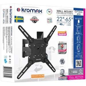Кронштейн для телевизора KROMAX OPTIMA-406 (серый)