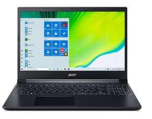 """Ноутбук Acer Aspire 7 A715-75G-54QB (15,6"""", FHD IPS, i5 9300h, 8GB, 512GB SSD, 1650 4GB, Linux)"""