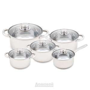 Набор посуды Home Cafe (нержавеющая сталь)