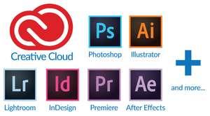 Adobe Photoshop (цена за месяц при оплате года)