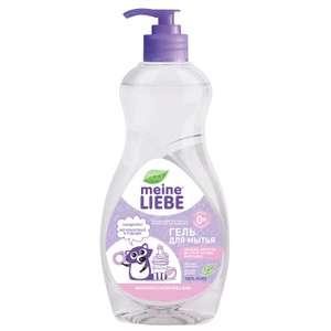 -40% доп. по промокоду на Meine Liebe (например, гель для мытья овощей/фруктов/посуды и игрушек, 485 мл)