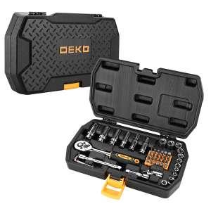 Набор инструментов для автомобиля DEKO DKMT49 (49 предметов)