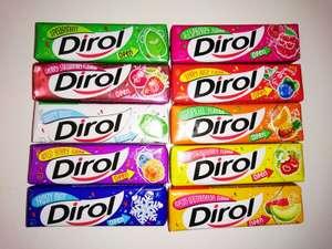 Жевательная резинка Dirol в ассортименте, 30 шт.