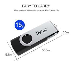 USB 2.0 Флэшка Netac U505 на 64 Гб