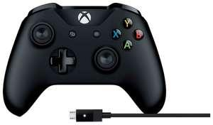 Геймпад Microsoft Xbox One + Cable for Windows 4N6-00002